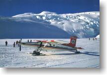 1998年氷河遊覧の写真