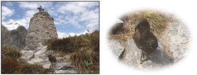 マッキノン記念碑とキーア