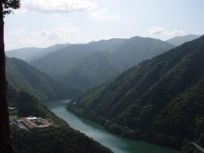 熊野川を見る