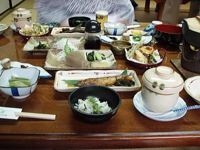 小栗屋さんの料理