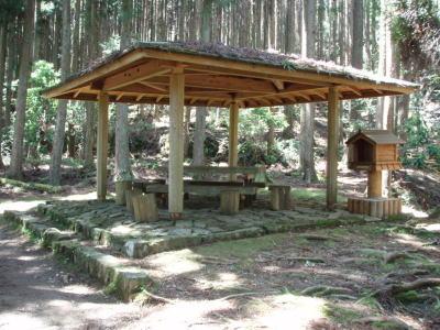 石堂茶屋跡