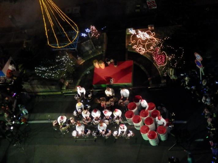 ドラム演奏クリスマスイブ
