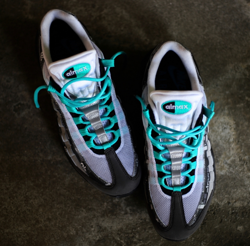 "the best attitude 63a26 31573 NIKE AIR MAX 95 ATMOS ""WE LOVE NIKE"" CLEAR JADE IS DROPPING ON 4.28"