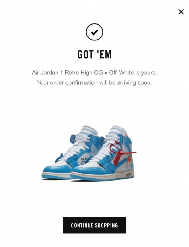 SURPRISE DROP ON NIKE US SNKRS: OFF
