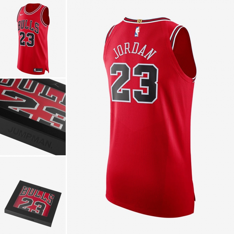 low priced 08878 a1634 MICHAEL JORDAN ICON EDITION AUTHENTIC/SWINGMAN JERSEY ...