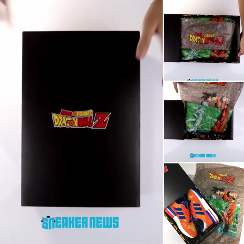 """2d59433472a UNBOXING THE DRAGON BALL Z X ADIDAS ZX 500 RM """"GOKU"""" BY SNEAKERNEWS ..."""