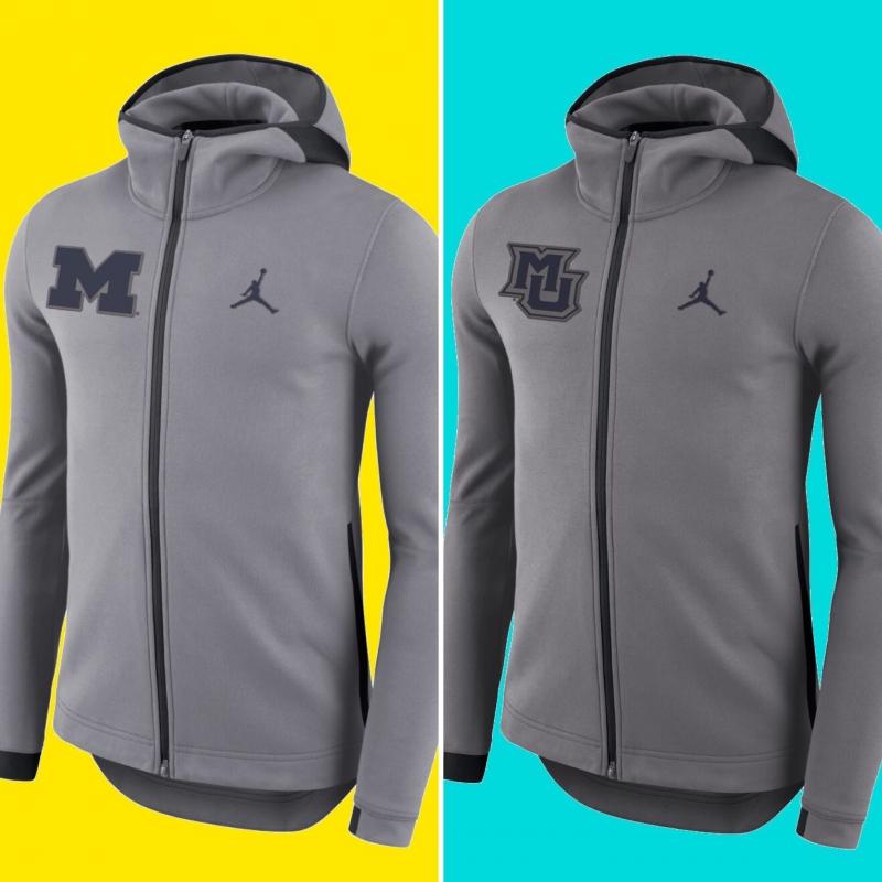 49b98aa69bc03b Jordan Brand Second Season Basketball Hyperelite Full-Zip Hoodie – Charcoal