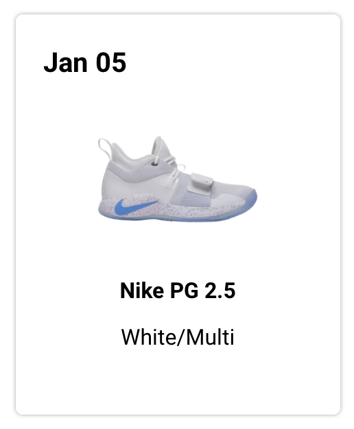 """best website f67ce 3f119 NIKE PG 2.5 PLAYSTATION """"WHITE"""" IS DROPPING ON 1.5 FROM FOOT ..."""