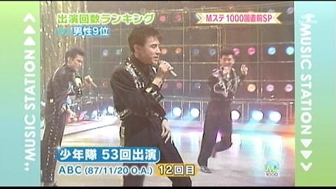 2010.01.15 少年隊「ABC」@Mステ