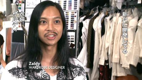 THIS IS IT に出てくる衣装担当Zaldy(ザルディ)