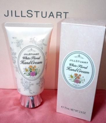 JILL STUARTホワイトフローラルハンドクリーム