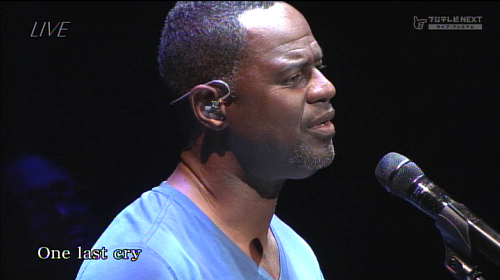 2014.05.02 Brian McKnight sings One last cry@ビルボードライブ東京