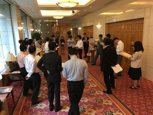 2016.06.17 平成28年度 在京八高同窓会 直前打ち合わせ
