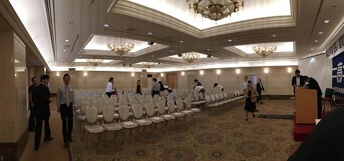 2016.06.17 平成28年度 在京八高同窓会 3F定例総会会場内