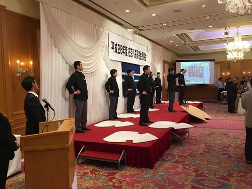 2016.06.17 平成28年度 在京八高同窓会 懇親会 校歌・応援歌コーナー