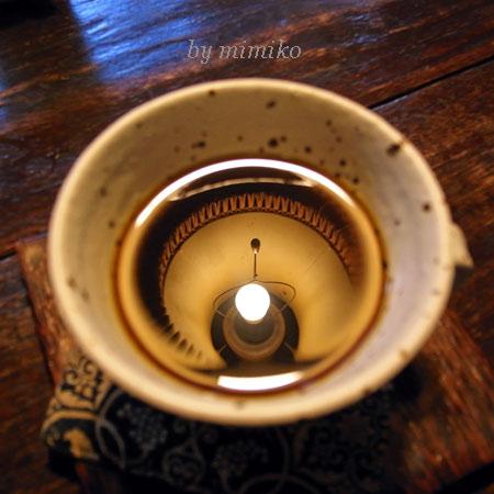 コーヒーの中の現実