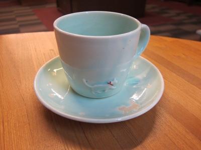 水戸美鈴さんのカップ&ソーサー