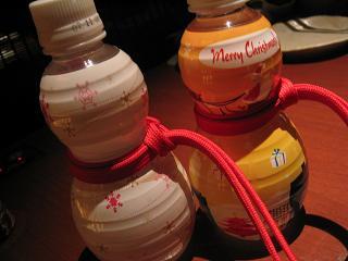 クリスマスボトル