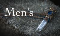 マクラメ/マクラメ編み/男/メンズ/ペンダント/ブレスレット/天然石