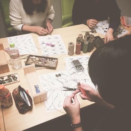 マクラメ,マクラメ編み,ワークショップ,教室,レッスン,初心者,ハンドメイド,デザイン,東京,