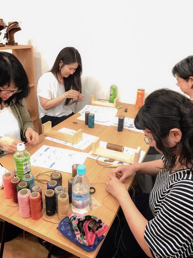ワークショップ,教室,マクラメ,マクラメ編み,ブレス,ブレスレット,ネックレス,レッスン,東京,天然石