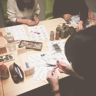 ワークショップ,マクラメ,教室,マクラメ編み,レッスン,東京,天然石,ハンドメイド,アクセサリー