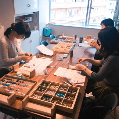 マクラメ,マクラメ編み,ワークショップ,教室,レッスン,アクセサリー,ハンドメイド,東京