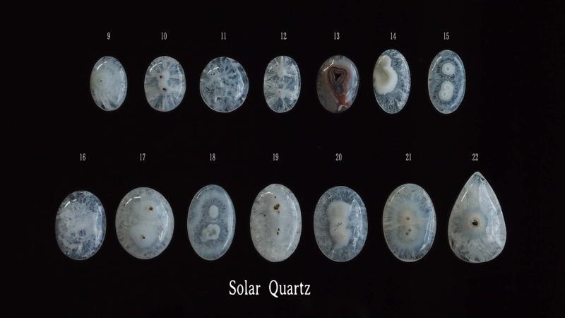 天然石/ルース/マクラメ編み/ハンドメイド/ルース/ソーラークォーツ