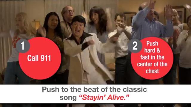 Ken Jeong AHA Hands-Only CPR video