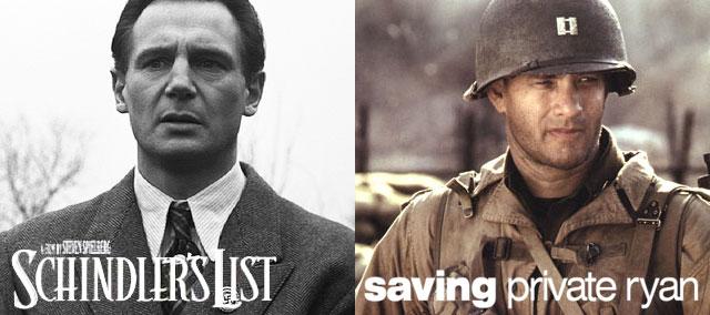 「シンドラーのリスト」「プライベート・ライアン」Schindlers List/Saving Private Ryan