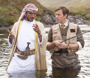 砂漠でサーモン・フィッシング/Salmon Fishing in the Yemen