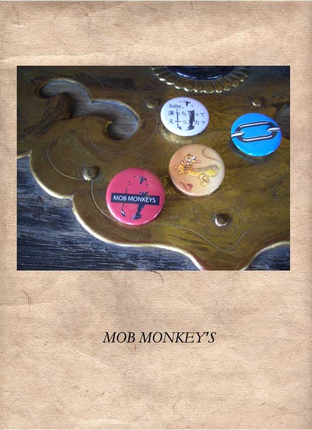MOB MONKEY'S バッチ