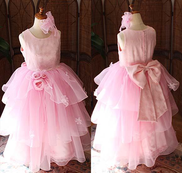 子供用 発表会ドレス ピンク