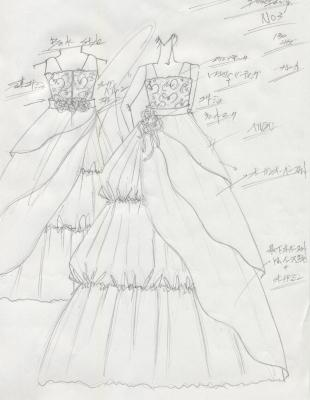 子供用発表会ドレス デザイン