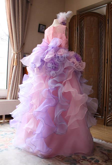 ピンク 発表会ドレス