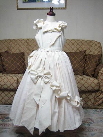 サンプルドレス 子供用ドレス