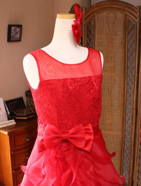 発表会ドレス 上半身デザイン
