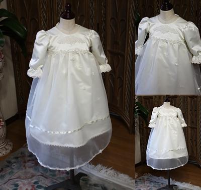 ベビードレス 男女兼用 お宮参りドレス 100日用ドレス