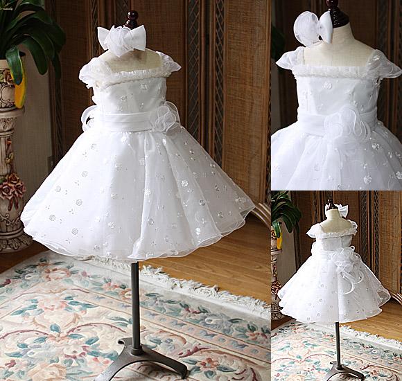 子供用ウェディングドレス フラワーガール