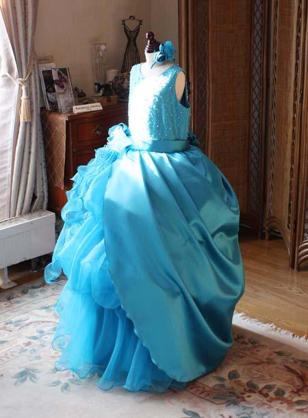 オーバースカート ドレス