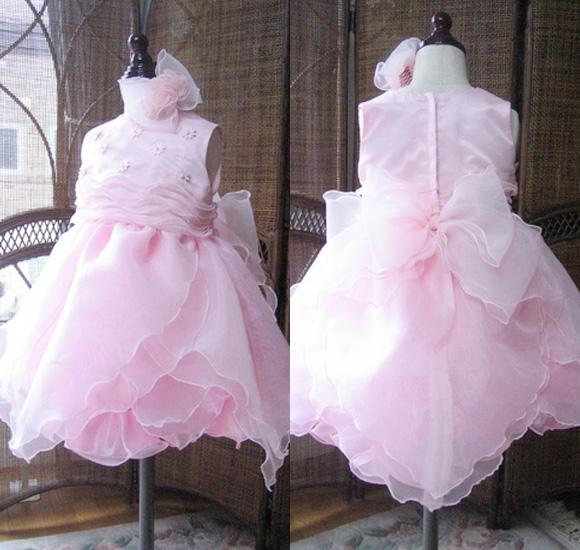 子供用ドレス ピンク 100cm
