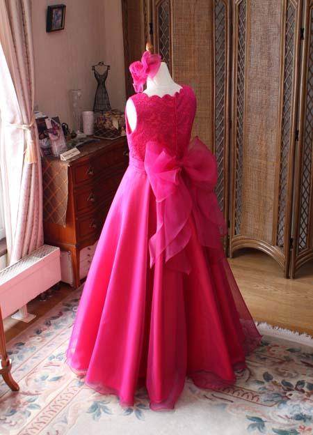 子供用 オーダードレス ピンク
