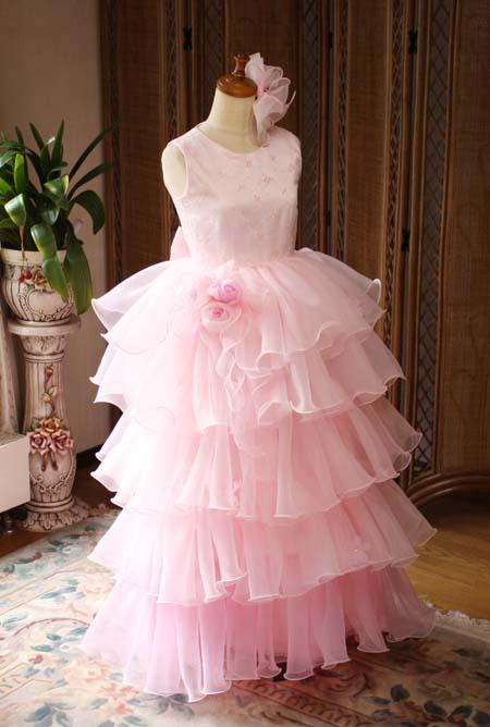 中学生 高校生用 演奏会ドレス ピンク