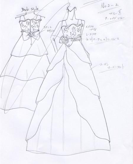 デザイン 子供用コンクールドレス 兵庫県神戸市