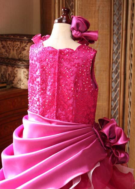 バックスタイル 子供用ドレス