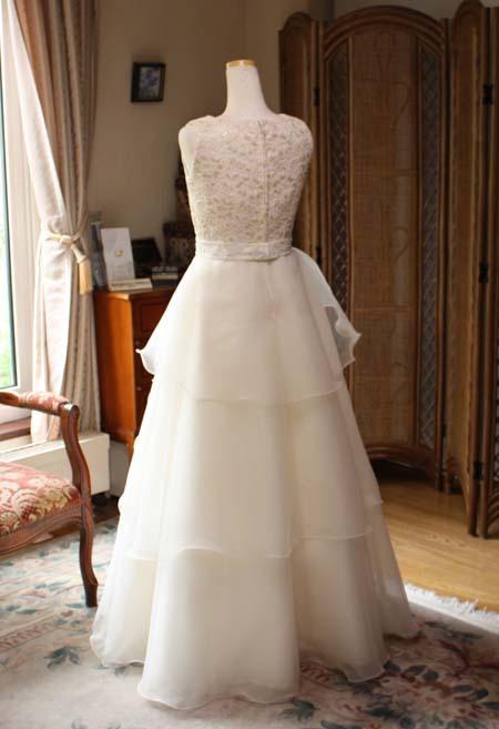 コンクール用ドレスのシルエット 155cmサイズ