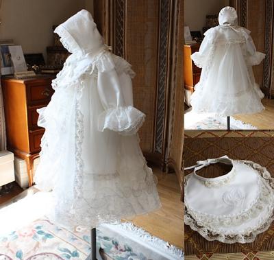 ベビードレス お宮参りドレス 100日ドレス