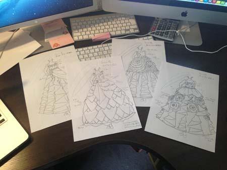 全国のお子様にドレスをデザイン デザイナードレス