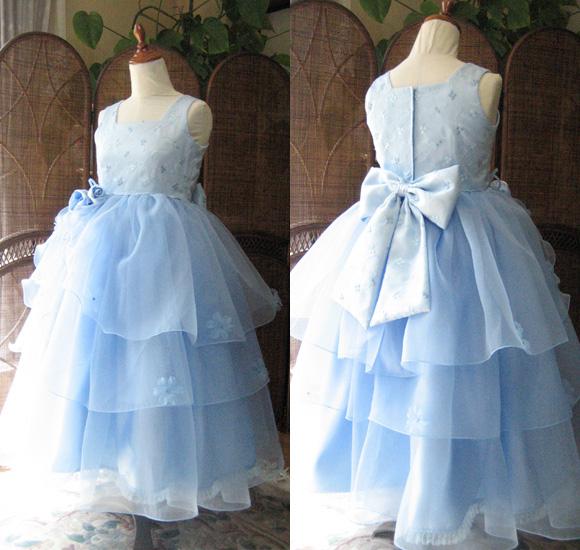 ピアノ、バイオリンの発表会ドレス