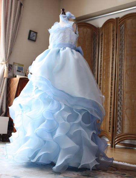 子供用のオーダードレス コンクール、発表会ドレス